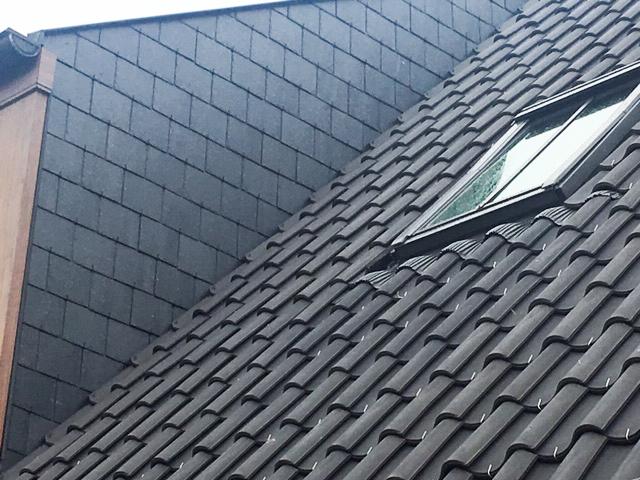 Janssen-Dings Blauw gesmoord + Natuurleien + Classico dakvenster Velux